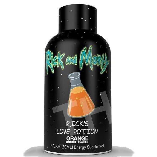 Rick's Love Potion Energy Shots