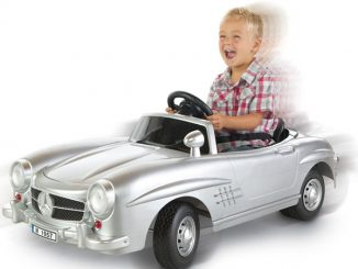 Ride-On Mercedes Roadster