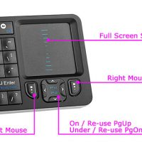 Rii Mini i6 Wireless Mini Keyboard and IR Remote