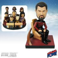 Riker Build-a-Bridge Deluxe Bobble Head