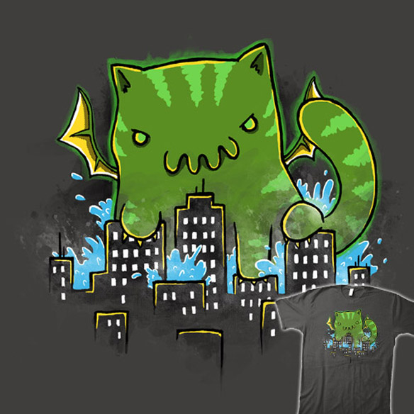 Rise of Cathulhu T-Shirt