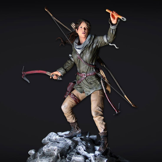Rise of the Tomb Raider Collectors Edition Statue