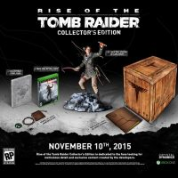 Rise of the Tomb Raider Collectors Edition Video Game