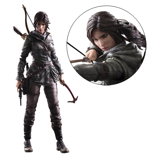 Rise of the Tomb Raider Lara Croft Play Arts Kai Action Figure