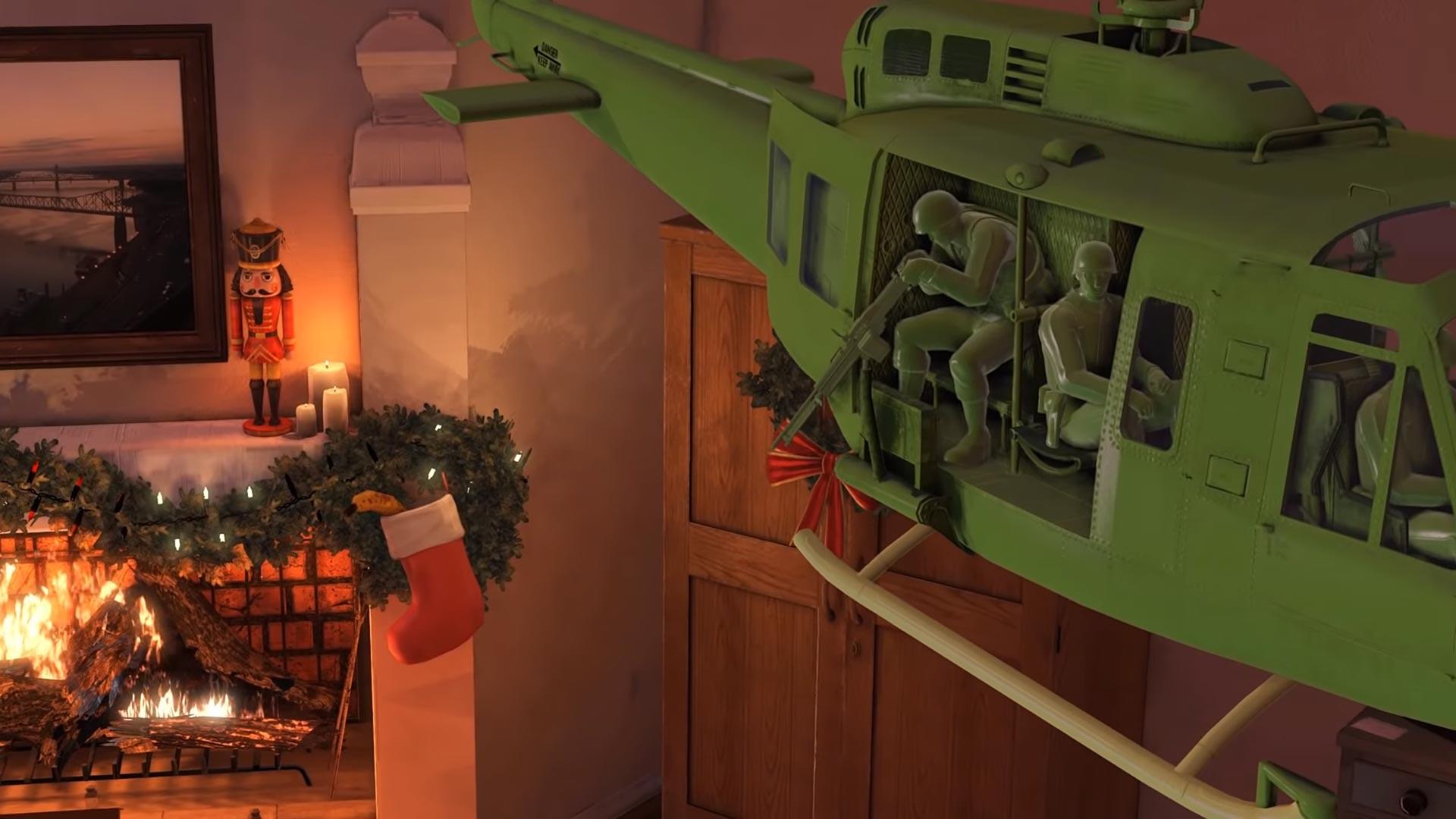 Rising Storm 2 Vietnam Green Army Men Christmas Trailer