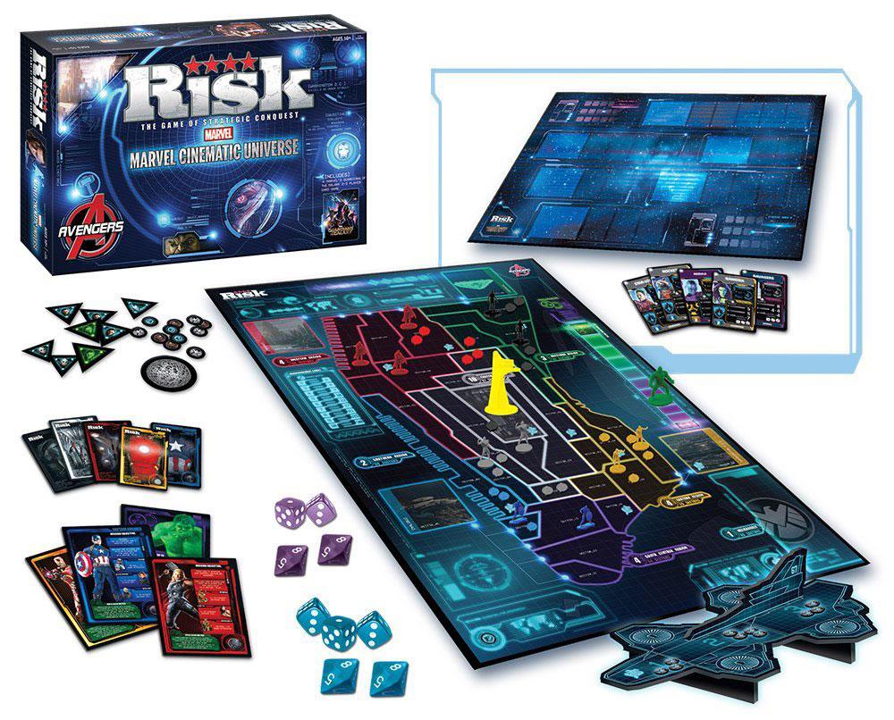 Risk Marvel Cinematic Universe Board Game