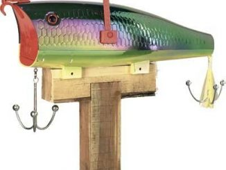 Rivers Edge Firetiger Fish Mailbox