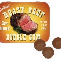 Roast Beef Bubble Gum