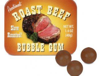 Roast Beef Bubble Gum