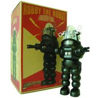 Robby the Robot Black and White Version Figure