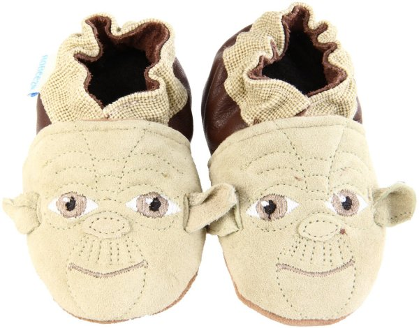 Robeez Soft Soles Star Wars Yoda Slippers