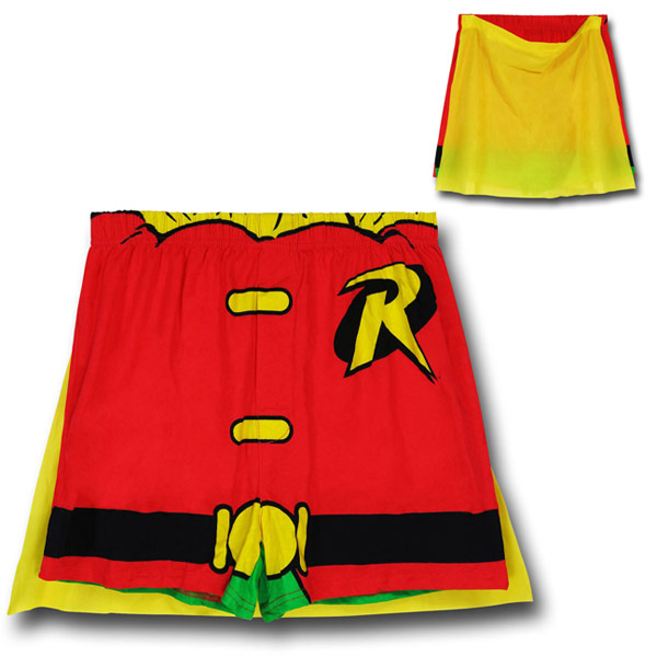 Robin Costume Caped Knit Boxers