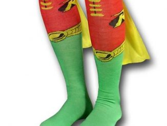Robin Socks w Capes Women's Knee-Highs