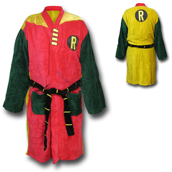 Robin Vintage Costume Bathrobe