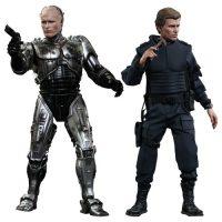 RoboCop Battle Damaged Version and Alex Murphy Figures