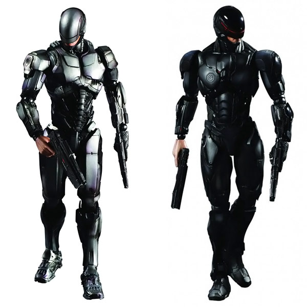 RoboCop Play Arts Kai Action Figures