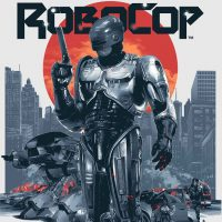 Robocop Art Print by Gabz Small