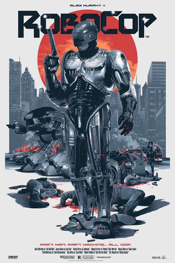 Robocop Art Print by Gabz