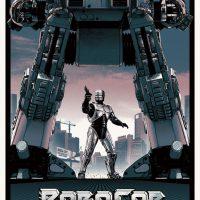 Robocop Art Prints by Matt Ferguson - small