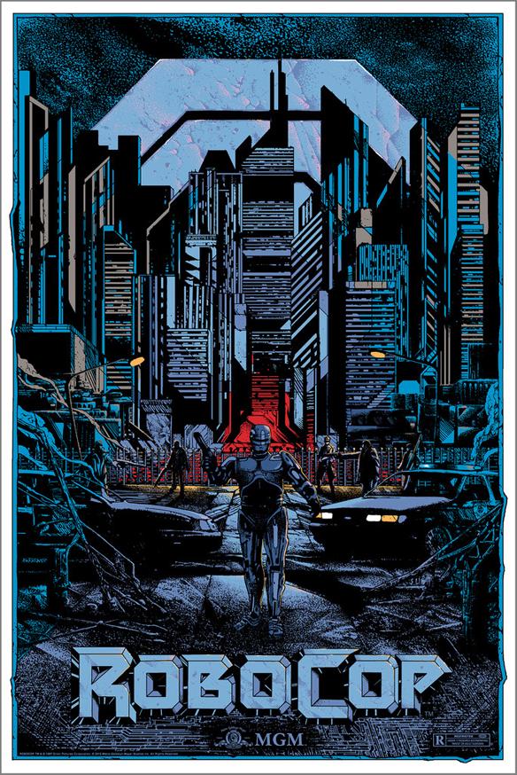 Robocop by Kilian Eng Art Print - variant edition