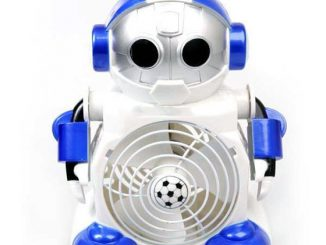 Robot Cool Mini Desktop Fan
