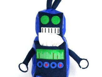 Robot Sniffle Tissue Holder