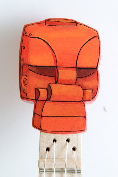 Roc em Soc em Robot ukulele ( Robolele)