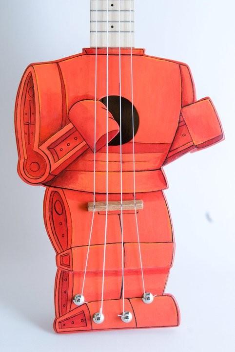 Roc em Soc em Robot ukulele