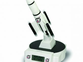 Rocket-Inspired Alarm Clock