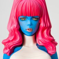 Rockin Jelly Bean X-Men Mystique Statue Detail