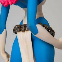 Rockin Jelly Bean X-Men Mystique Statue Rear Detail