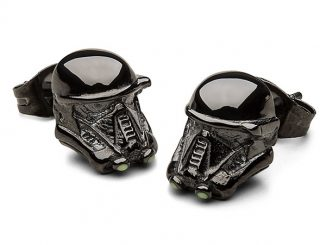 Rogue One Death Trooper 3D Stud Earrings