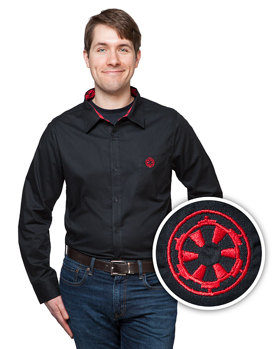 Rogue One Empire Logo Dress Shirt