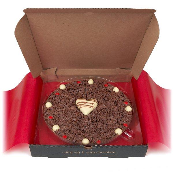 Romantic 10 Chocolate Pizza
