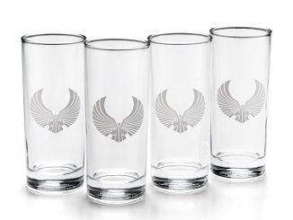 Romulan Ale Pint Glasses