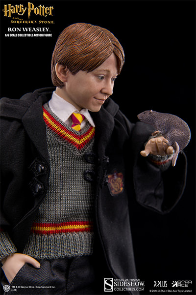 Ron Weasley Sixth-Scale Figure with Scabbers