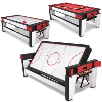 Rotating Air-Hockey-To-Billiards Table