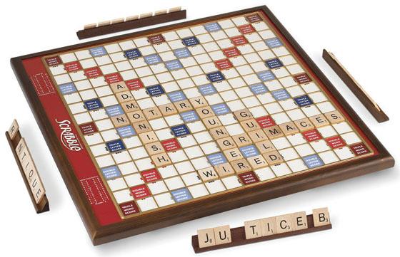 Rotating Oversized Scrabble Game