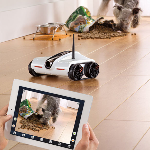 Rover Smartphone App-Controlled Spy Tank