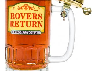 Rovers Return Pint Glass