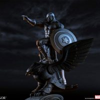 Royal Selangor Captain America Resolute Figurine