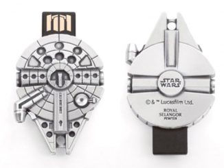 Royal Selangor Star Wars Millennium Falcon Pewter Flash Drive