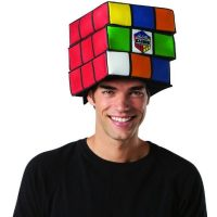Rubik's Cube Adult Hat