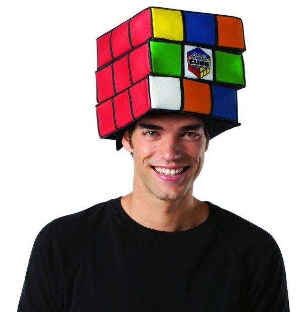 Rubik's Cube Adult Hat