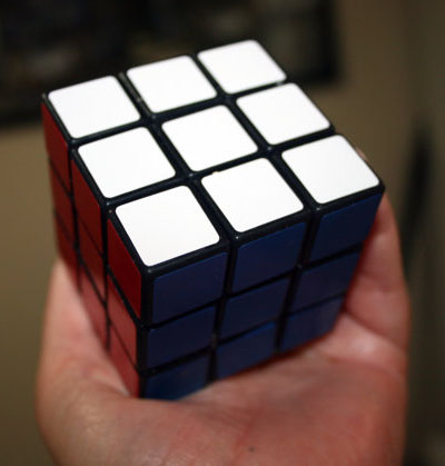 Rubik's Cube Designed Soap