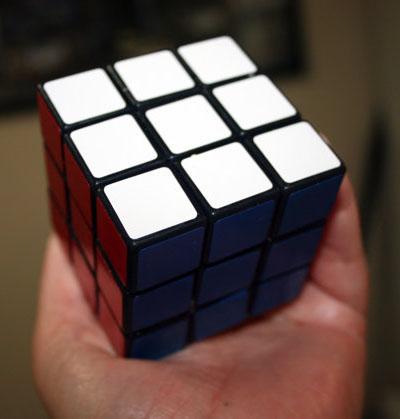 Rubik's Cube Designed Soap