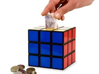 Rubik's Cube Money Box