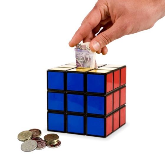 Rubik's Cube Money Box