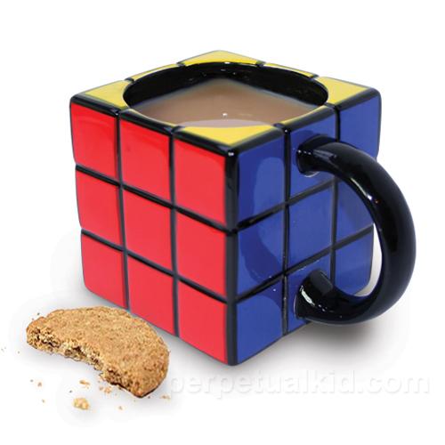 Rubik 39 s cube mug for Cool tea cup designs
