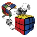 Rubik's Cube Reversible Plush
